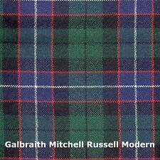 Tartan Sash Clan Galbraith Mitchell Russell Modern Ladies Scottish Wool Plaid