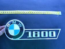"""BMW :  """" 1800 """" : Emblem, Schriftzug  :   Vintage, Oldtimer"""