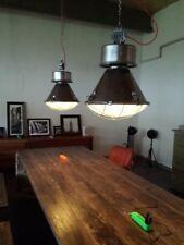 LOFT LAMPE Industrie Vintage Atelier Hängelampe Fabrik INDUSTRIELAMPE GLOCKE XXL
