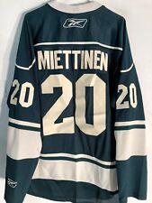 Reebok Premier NHL Jersey Minnesota Wild Antti Miettinen Green sz 2X