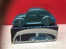 Avon Volkswagen Beetle Bug Car Windjammer After Shave Glass Decanter Full Nos