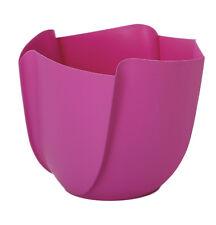 Umtopf Twister pink Ø 17cm Übertopf 5 Stück Blumentopf DIY Beton gießen Dekotopf