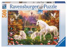 Ravensburger Puzzle - zauberhafte Einhörner 500 teile