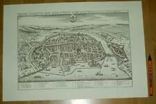 Konstanz alte Ansicht Merian Druck Stich 1650 (schw)
