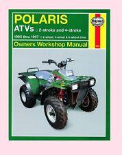 Haynes Workshop Manual for POLARIS ATV 2 & 4-Stroke models 2wd 4wd & 6wd 1985-97