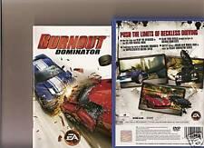 Burnout Dominator PLAYSTATION 2 PS2 Racer Burn Out PS 2