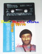 MC LUCIO DALLA 1987  PROMO TUTTO caruso futura anna marco balla cd lp dvd