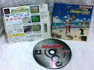Namco Tennis Smash Court (PlayStation) RARE! Japan!