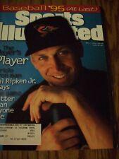 Cal Ripken Jr Covers Sports Illustrated Magazine 1995