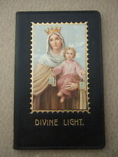 Vintage Catholic Prayer Book Missal First Holy Communion OL Mt. Carmel picture