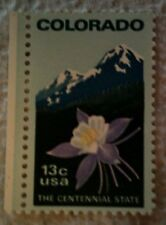1977 Scott 1711 U. S. Colorado Statehood 100th one new unused 13 cent stamp