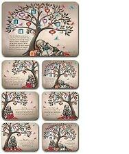 Tree of Dreams Placemats & Coasters  x 6 By Lisa Pollock Great Gift Idea