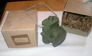 WW2 Army BLACKOUT No.1 CYCLE LAMP LIGHT NOS in Box