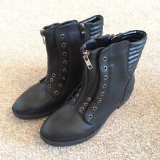 Black Biker Boots - 3/36
