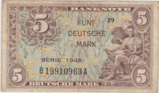 BRD Fünf Deutsche Mark Serie 1948