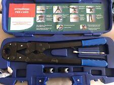 Pressatrice per multistrato manuale Professionale Pinzatrice Pex  th 16 20 26