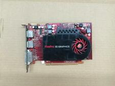 1PC USED FirePro V4800 graphics card 1G DDR5 dual DP / DVI / graphics card