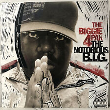 THE NOTORIOUS B.I.G. THE BIGGIE 4 PAK Vinyl Double EP 2005  RARE!!! NEW Sealed