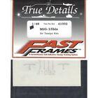 Decals Adhesives Fast Frames Decals 1/48 MIG-15BIS Tamiya TRUE DETAILS 41032