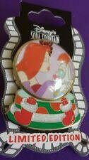 Disney Soda Fountain Jessica & Roger Rabbit 2012 Christmas Snowglobe Le 300 Pin