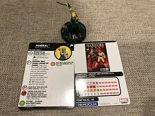 Fandral 059 NM W/ Card -Super Rare- Marvel HeroClix: The Mighty Thor SR 59