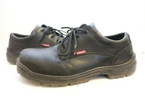 Red Wing ASTMF2892-11 Mens Black Leather Work Shoes Sz 13