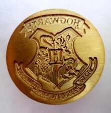 Harry Potter Hogwarts School Badge Wax Seal Stamp Wooden Handle Gift