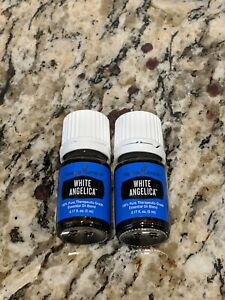 Young Living Essential Oils White Angelica 5ml - Lot of 2 NEW