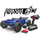 Redcat Piranha TR10 1/10 Brushed Electric Truggy w/ 2.4Ghz Radio RTR Blue