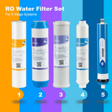 Replacement Filters Set For 5-Stage Reverse Osmosis Water Filtration Systems TOP