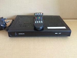 Hitachi Freeview+ Twin tuner Digital TV Recorder 160gb Hard Drive HDR165