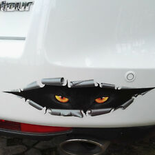 3D Monster Leopard Peeking Car SUV Rear Trunk Window Vinyl Sticker Decal Funny