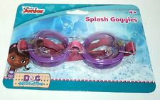 DISNEY JUNIOR DOC McSTUFFINS Swim Goggles Ages 4+ NIP