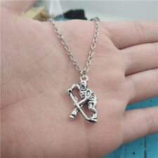 hockey player silver Necklace pendants fashion jewelry accessory,creative gifts