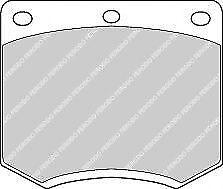 Ferodo FDB167 Front Axle Premier Car Brake Pad Set Replaces 1451625
