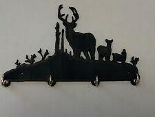 "Plastic 7"" Buck Deer Key Hook Holder Key Rack Jewelry Organizer Wildlife Decor b"