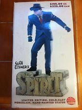 Will Eisner's The Spirit DC Direct Limited Edition Porcelain Statue NIB! L@@K!