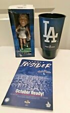2019 Los Angeles Dodgers Billie Jean King Bobblehead SGA 9/21 With Xtras #2