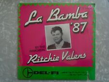 "Ritchie Valens ‎– La Bamba '87 DEL-FI 12"" SINGLE 1987 PROMO"