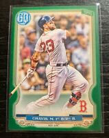 Michael Chavis 2020 Topps Gypsy Queen #222 Green Parallel Boston Red Sox