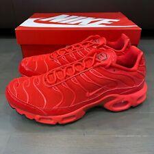 Nike Air Max Plus TN Light Crimson Red Black White AV8424 600 Women's Size 6