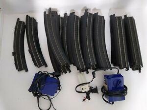 -HO SCALE -SWITCH TRACKS & CROSS TRACK-LIFE-LIKE TRAINS power supplies