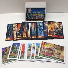 MARS ATTACKS! HERITAGE Topps 2012 Complete Base Card Set w/ 25 Chase Cards (80)