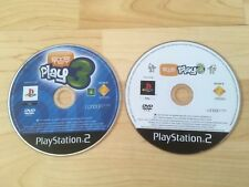 PS2 SONY PLAYSTATION 2 EYE TOY PLAY 2 & 3 GAMES  - FAST FREE POSTAGE