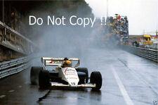 Ayrton Senna Toleman TG184 Monaco Grand Prix 1984 Photograph 5