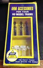 Ahm Accessories for Ho Scale Model Trains - Rr & Traffic Signs