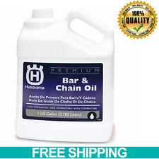 Husqvarna Conventional Bar Chainsaw Chain Oil Brand Special Additives Gallon