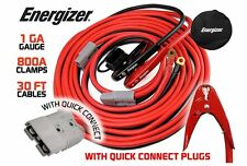 Energizer Jumper Cables Battery Power Car Jumper Booster Quick Connect 800 AMP