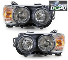 2012-2013 Chevrolet Sonic Head Lights OE Style with BLACK Bezel Trim Cover DEPO