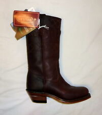 Boulet 5095 Size 6.5C Womens Grizzly Mountain Motorcycle Boots Vagabond BROWN